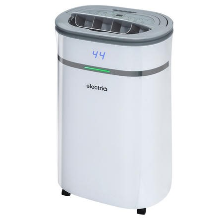 electriQ 12L Low Energy Smart App Wi-Fi Alexa Dehumidifier for up to 3 bed house with UV Air Purifier