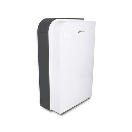 electriQ 10L Fast Dry Desiccant Dehumidifier and Heater with HEPA Air Purifier for 2-6  bed  homes