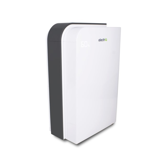 Electriq 10l Fast Dry Desiccant Dehumidifier And Heater