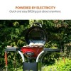 GRADE A1 - Outdoor Electric Compact BBQ EIQELECBBQ - Red
