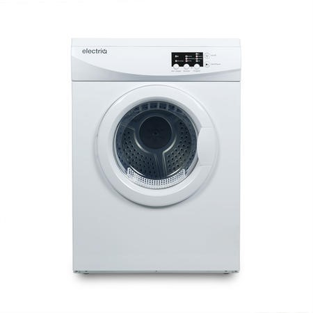 electriQ Freestanding 7kg Vented Tumble Dryer - White