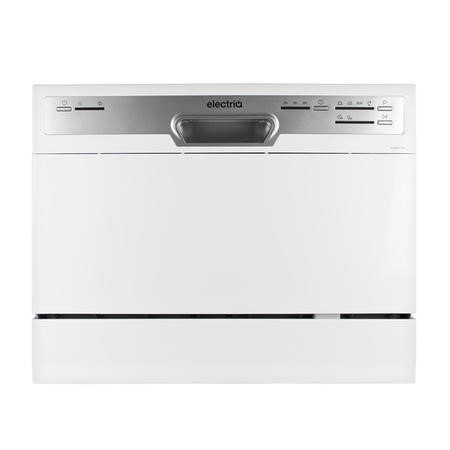 electriQ Table Top / Integrated Dishwasher - White