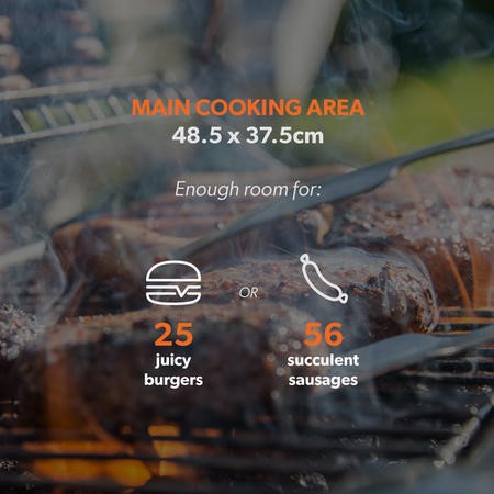 The Texas Outdoor 4 Burner BBQ Kitchen - Includes BBQ Cover and Utensils Set