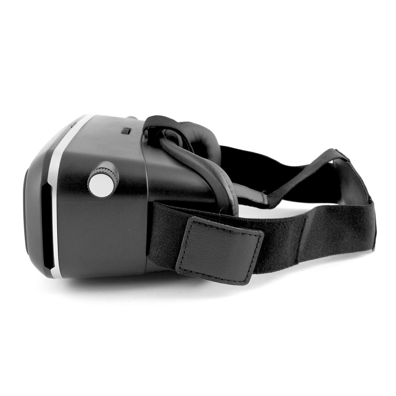 9bc0f14f921 electriQ 3D VR glasses for phones with black remote control
