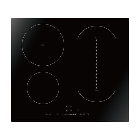 electriQ 60cm Induction Hob with Bridge Zone