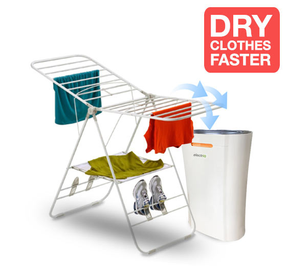 dry clothes faster