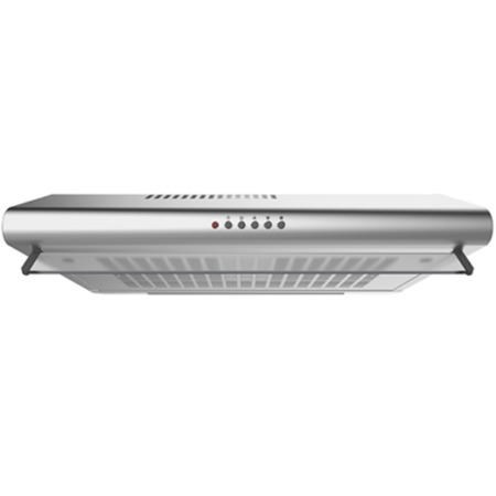 Electriq 60cm Stainless Steel Rear Venting Visor Hood With