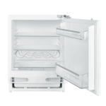 electriQ 60cm Wide Integrated Under Counter Larder Fridge - White EQBUINTFRIDGE
