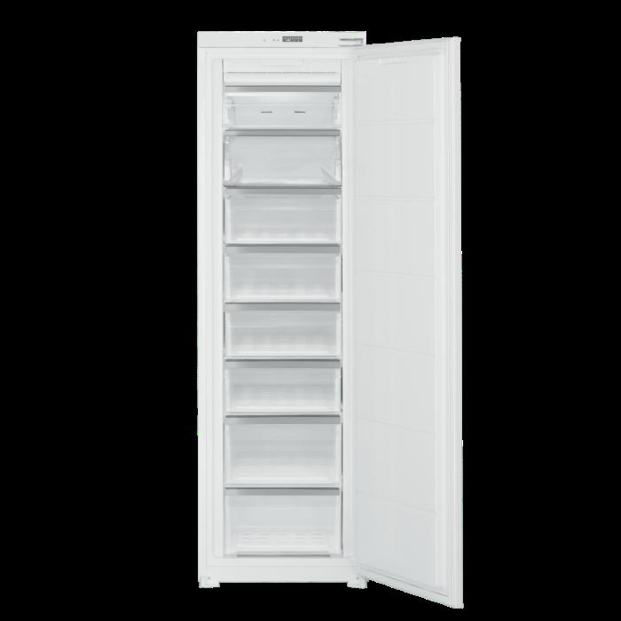electrIQ 54cm Wide Frost Free Integrated Upright Freezer - White EQINTFREEZERTALL