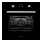electriQ 65 litre 9 Function Full Fan Electric Single Oven - Supplied with a plug EQOVENM3
